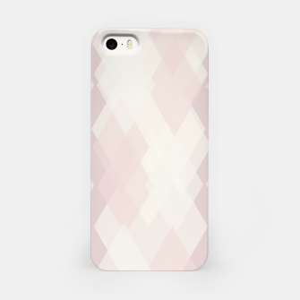 Thumbnail image of Confused Argyle in soft colors iPhone Case, Live Heroes