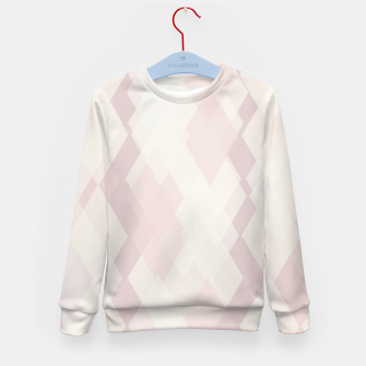 Thumbnail image of Confused Argyle in soft colors Kid's sweater, Live Heroes