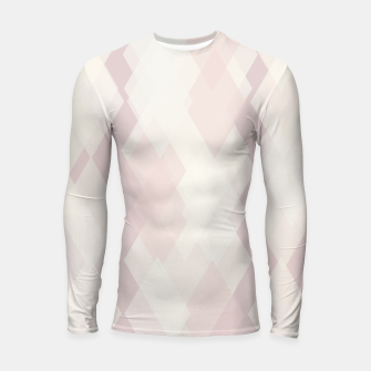 Thumbnail image of Confused Argyle in soft colors Longsleeve rashguard , Live Heroes