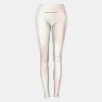 Thumbnail image of Confused Argyle in soft colors Leggings, Live Heroes