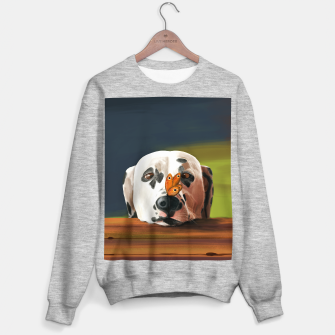 Thumbnail image of Dalmatian Dog With Butterfly Bluza standard, Live Heroes
