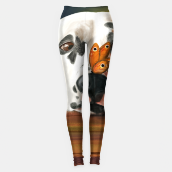 Thumbnail image of Dalmatian Dog With Butterfly Legginsy, Live Heroes