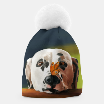 Thumbnail image of Dalmatian Dog With Butterfly Czapka, Live Heroes