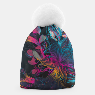 Thumbnail image of Grim Flowers Beanie, Live Heroes