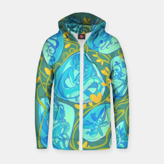 Miniature de image de Gemstone Menagerie Cotton zip up hoodie, Live Heroes