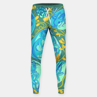 Miniature de image de Gemstone Menagerie Cotton sweatpants, Live Heroes