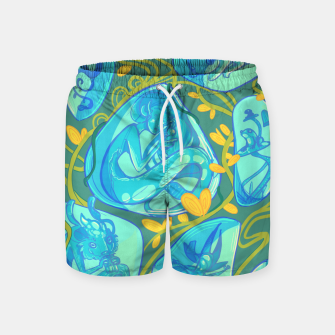 Miniature de image de Gemstone Menagerie Swim Shorts, Live Heroes