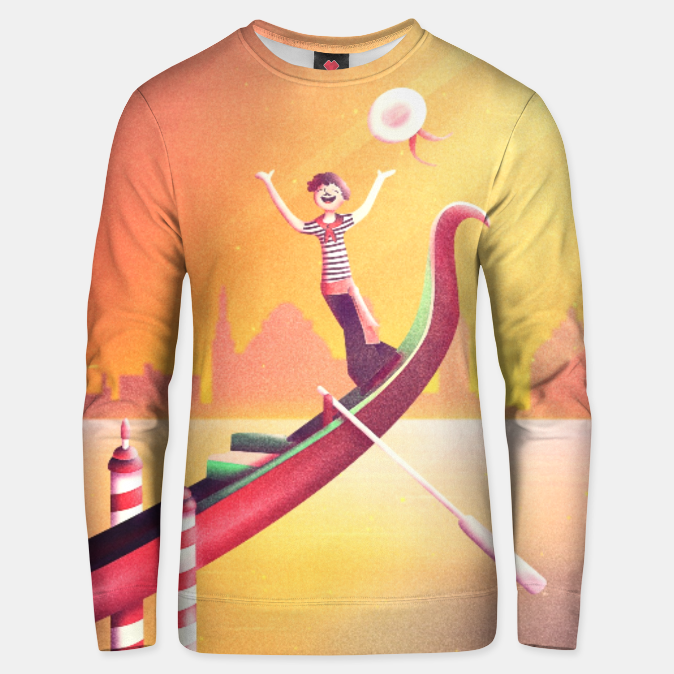 Image of Venice Seesaw Cotton sweater - Live Heroes