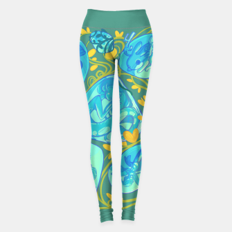Miniature de image de Gemstone Menagerie Leggings, Live Heroes