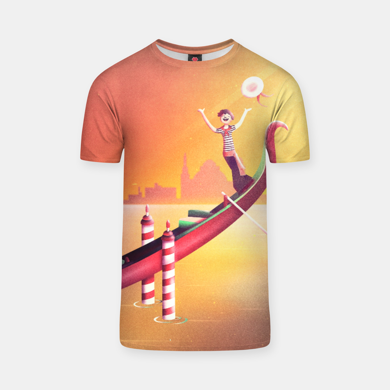 Image of Venice Seesaw T-shirt - Live Heroes