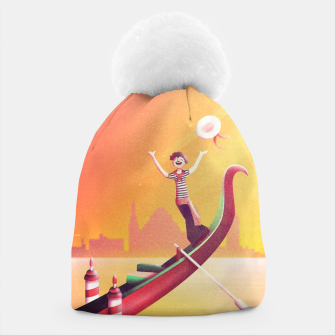 Thumbnail image of Venice Seesaw Beanie, Live Heroes