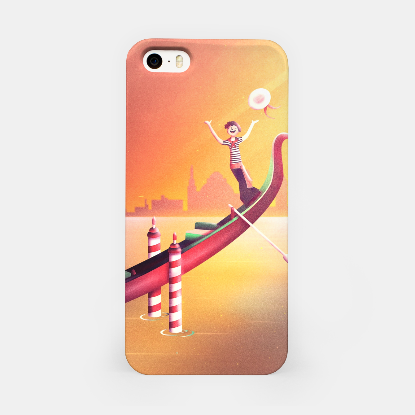 Image of Venice Seesaw iPhone Case - Live Heroes