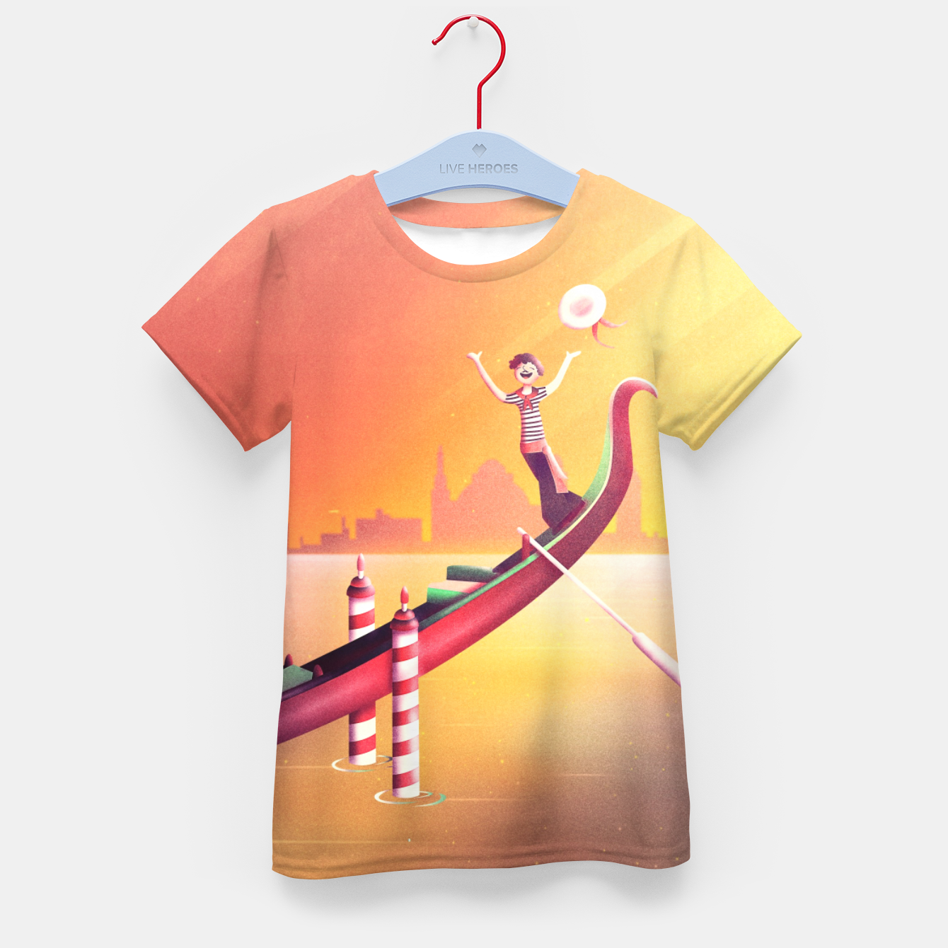 Image of Venice Seesaw Kid's t-shirt - Live Heroes