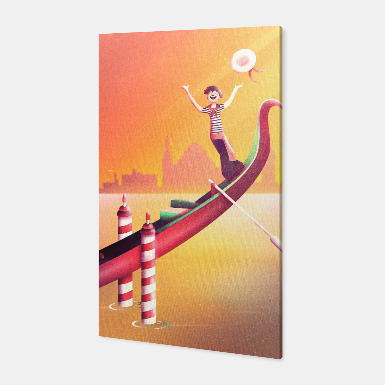 Image of Venice Seesaw Canvas - Live Heroes