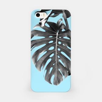 Thumbnail image of Monstera Delight #1 #tropical #decor #art iPhone-Hülle, Live Heroes