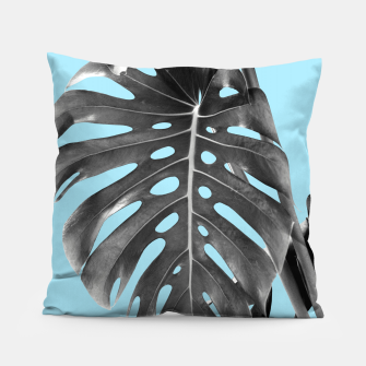 Thumbnail image of Monstera Delight #1 #tropical #decor #art Kissen, Live Heroes