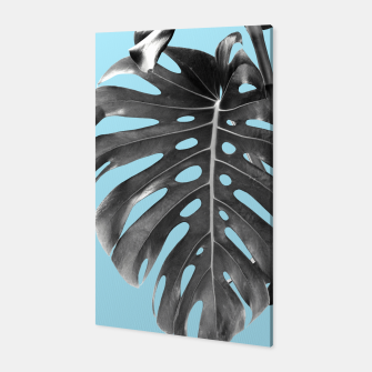 Thumbnail image of Monstera Delight #1 #tropical #decor #art Canvas, Live Heroes