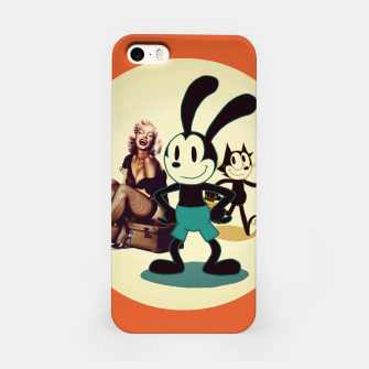Thumbnail image of Happy Days (two) iPhone Case, Live Heroes