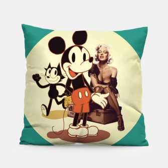 Thumbnail image of Happy Days (one) Pillow, Live Heroes