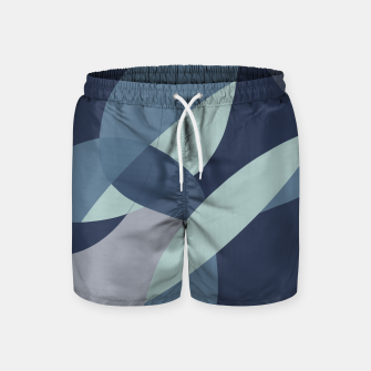Miniatur Flying in the blue Swim Shorts, Live Heroes