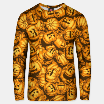 Thumbnail image of Halloween Pumpkins Pattern Unisex sweater, Live Heroes