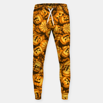 Thumbnail image of Halloween Pumpkins Pattern Sweatpants, Live Heroes