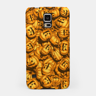 Thumbnail image of Halloween Pumpkins Pattern Samsung Case, Live Heroes