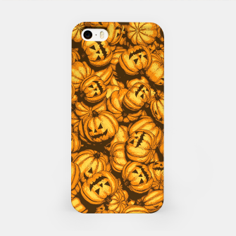 Thumbnail image of Halloween Pumpkins Pattern iPhone Case, Live Heroes