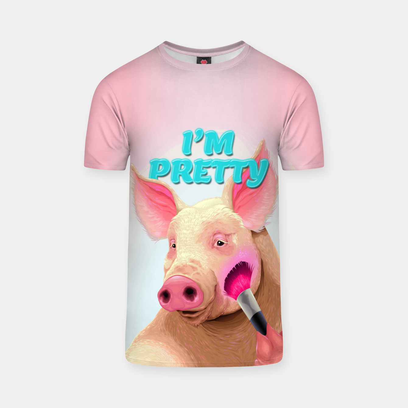 Image of Pretty in Pink T-shirt - Live Heroes