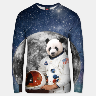 Thumbnail image of AstroPanda Unisex sweater, Live Heroes