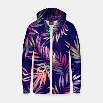 Miniatur Tropical Infusion Zip up hoodie, Live Heroes