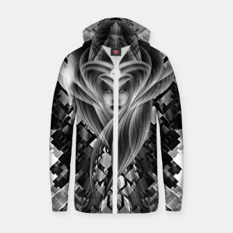 Thumbnail image of Mistress Of The Cuboid GS Zip up hoodie, Live Heroes