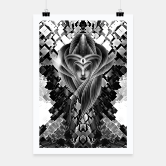 Thumbnail image of Mistress Of The Cuboid GS Poster, Live Heroes