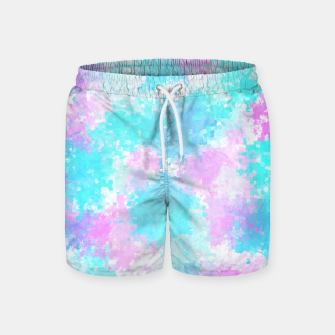 Miniaturka Blue pink abstract Swim Shorts, Live Heroes