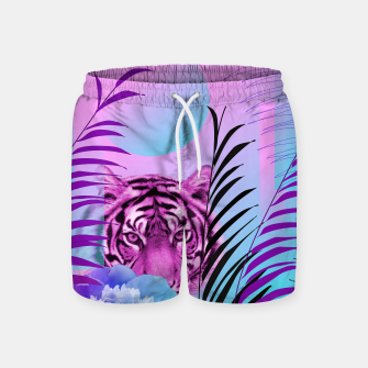 Miniatur Tiger Love Swim Shorts, Live Heroes