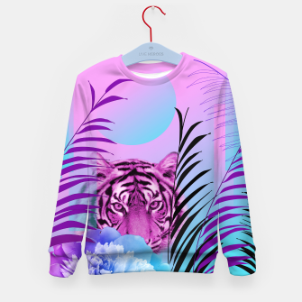 Miniatur Tiger Love Kid's sweater, Live Heroes