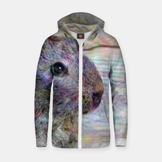 Thumbnail image of Artistic animal Guinea pig Zip up hoodie, Live Heroes