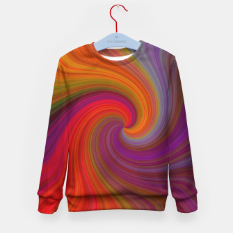 Miniatur Rainbow Vortex Kid's sweater, Live Heroes