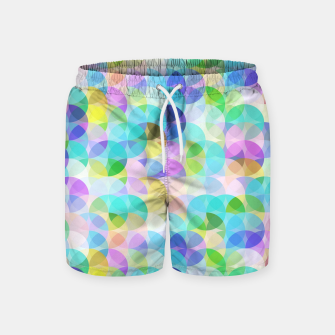 Miniatur Blue Bubbles Swim Shorts, Live Heroes
