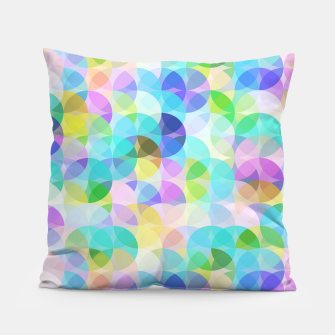Blue Bubbles Pillow Bild der Miniatur