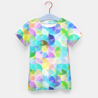 Thumbnail image of Blue Bubbles Kid's t-shirt, Live Heroes