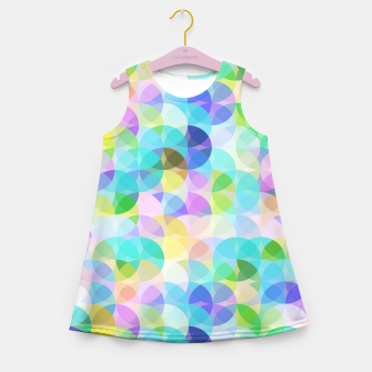 Blue Bubbles Girl's summer dress thumbnail image
