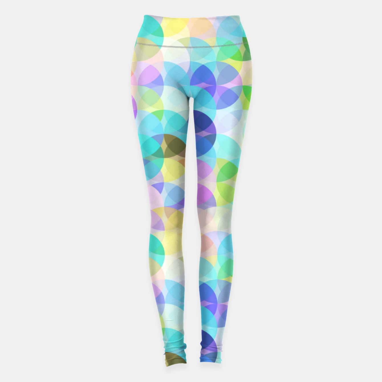 Image of Blue Bubbles Leggings - Live Heroes