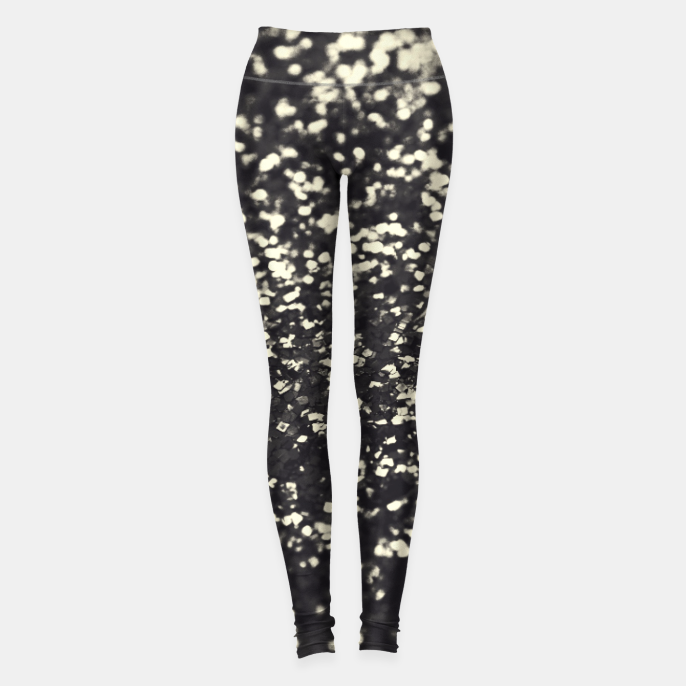 3358d4e193db8 Sparkling BLUSH YELLOW BLACK Lady Glitter #1 #decor #art Leggings, Live  Heroes