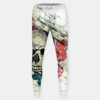 Thumbnail image of Roses and Skull  Sweatpants, Live Heroes
