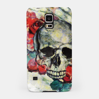 Thumbnail image of Roses and Skull  Samsung Case, Live Heroes