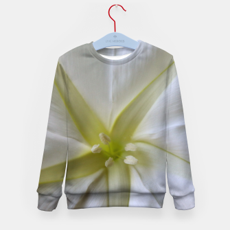 Thumbnail image of Moon Flower Kid's sweater, Live Heroes