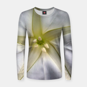 Thumbnail image of Moon Flower Women sweater, Live Heroes