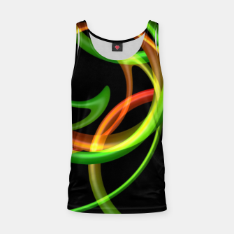 Miniatur Cyclical Loops Tank Top, Live Heroes