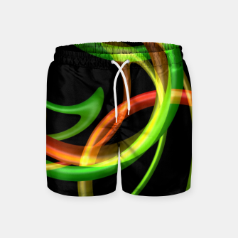 Miniatur Cyclical Loops Swim Shorts, Live Heroes